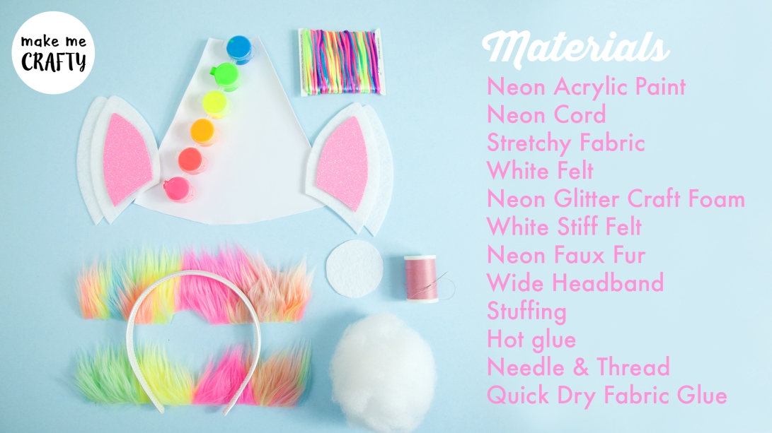 Unicorn headband info