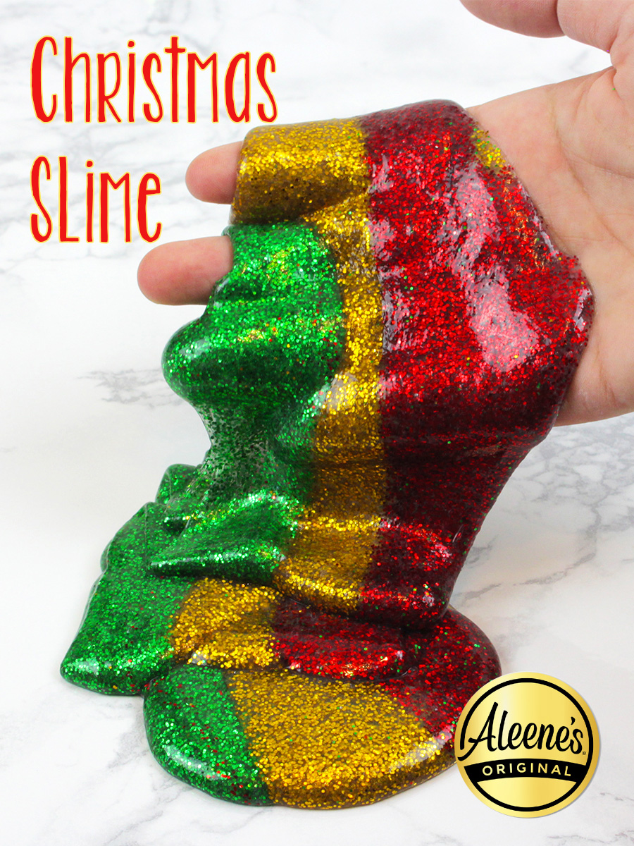 Christmas Slime Pin